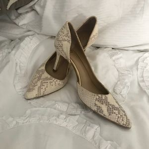 Ann Taylor Crocodile Pumps